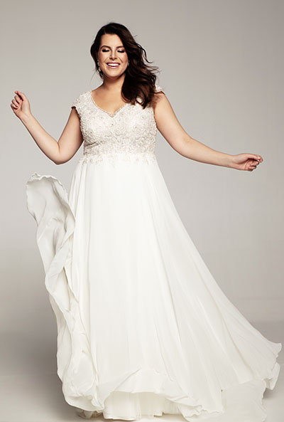 suknie plus size Lovely od Agnes