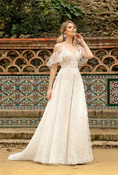 modna suknia ślubna 2021