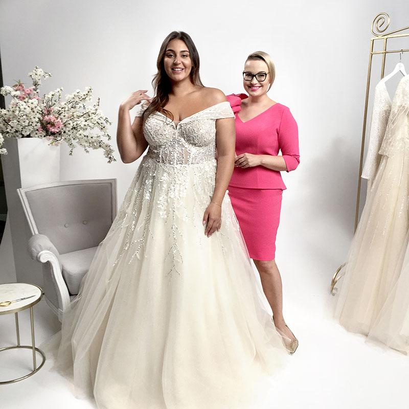 suknie ślubne pełne piękna