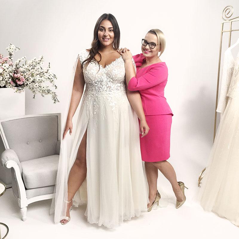 suknie ślubne o większym rozmiarze