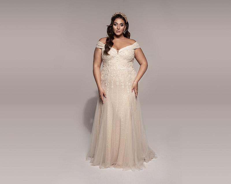 Stylizacja ślubna Asi kampania BeautyFull suknie ślubne