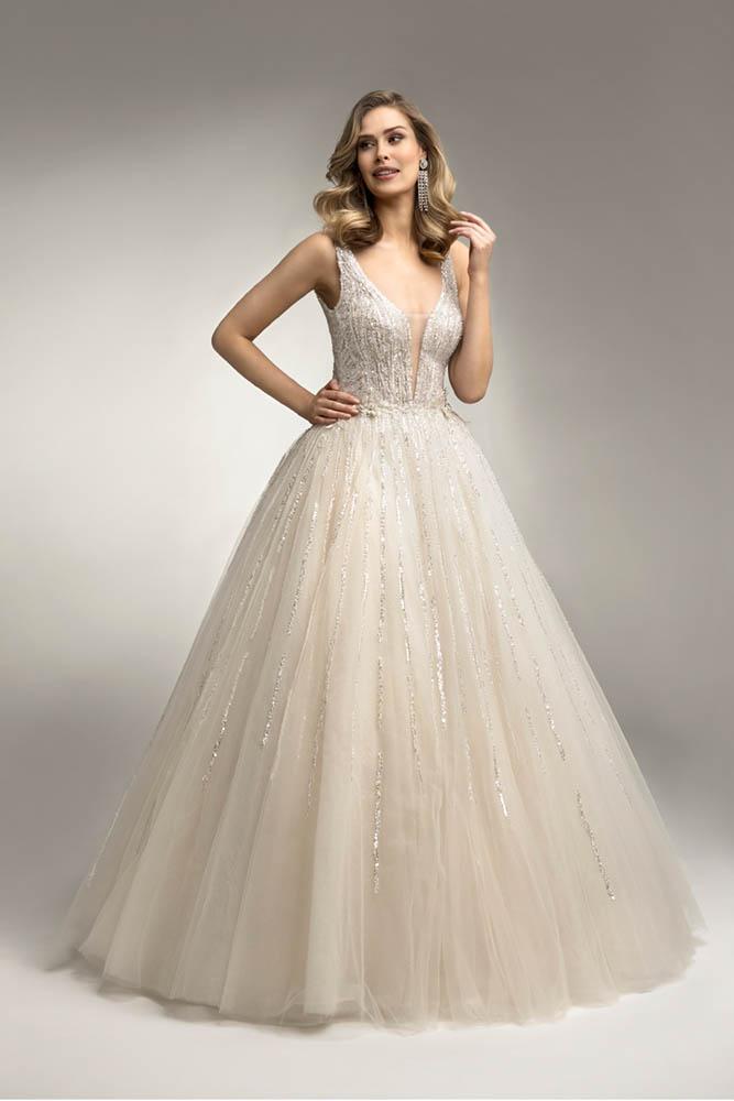 zimowe suknie ślubne