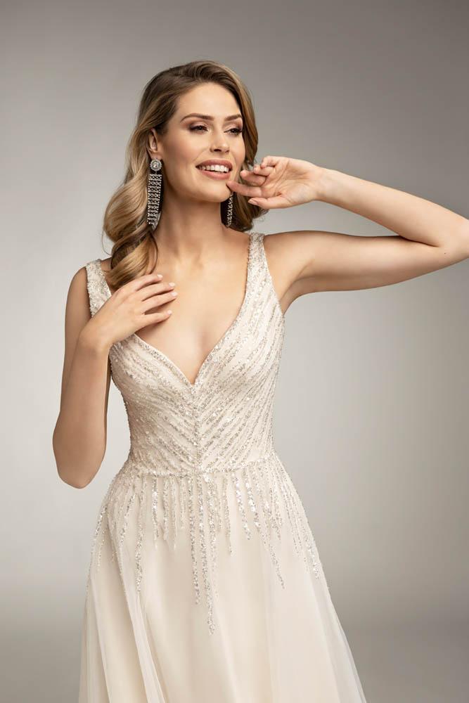 suknia na ślub w zimie