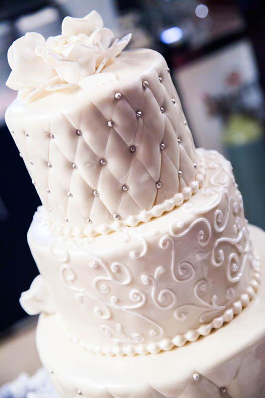 Tort weselny zimowy