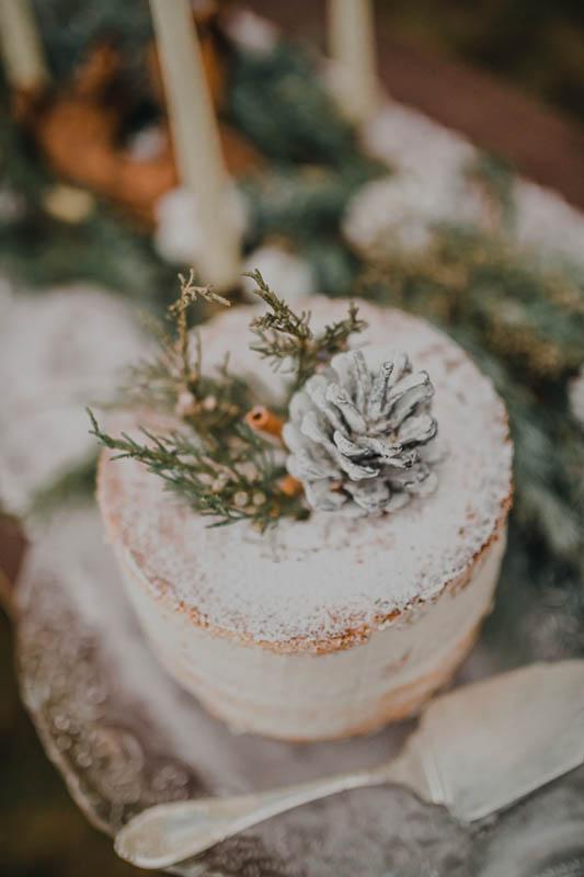 zimowe desery ślubne