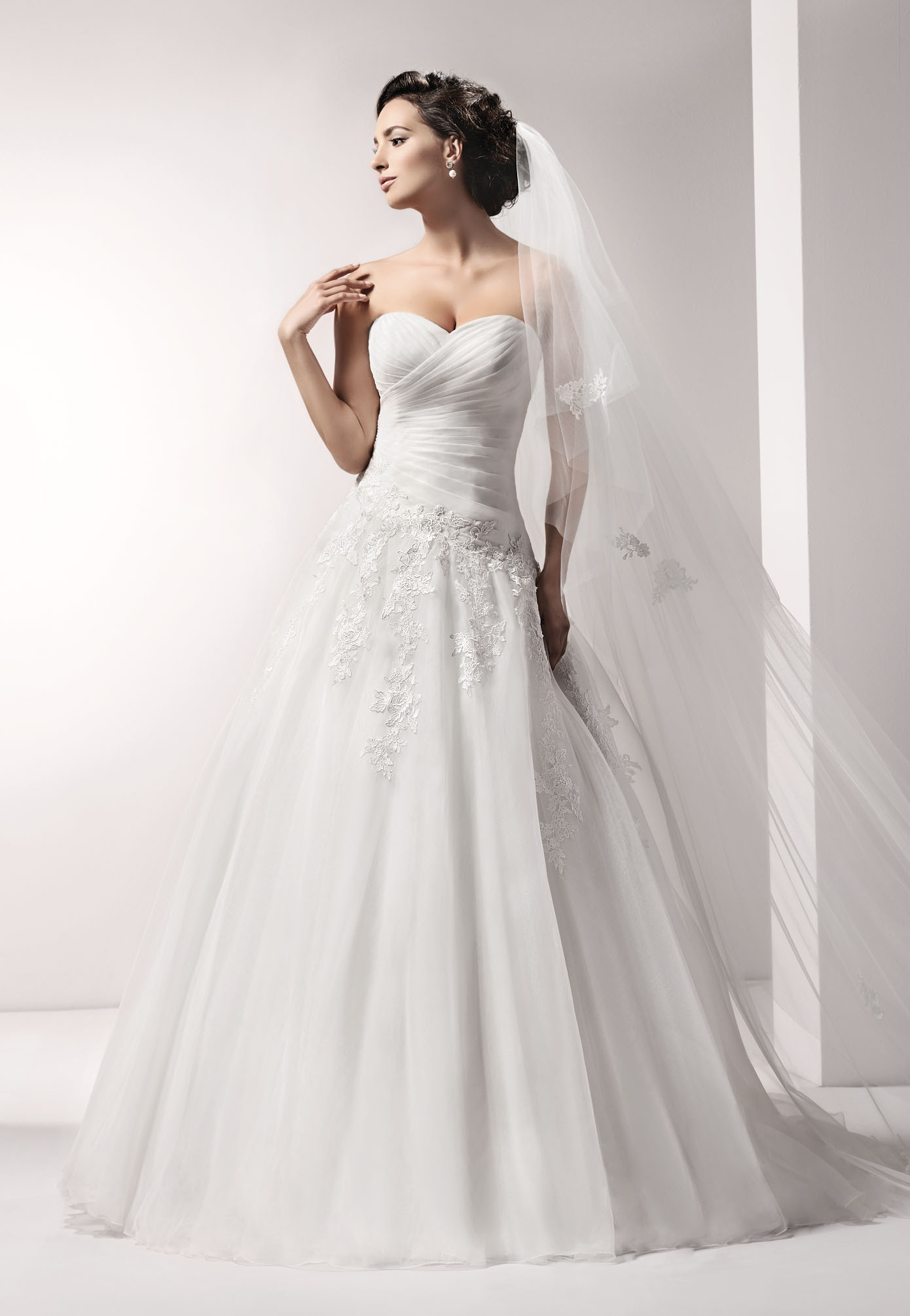 15100 - Love Collection - Wedding dresses - Agnes - lace wedding ...