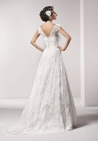 suknia ślubna 15217 tył