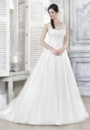 suknia ślubna 16033T przód