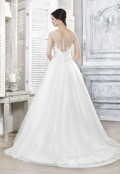 suknia ślubna 16033T tył