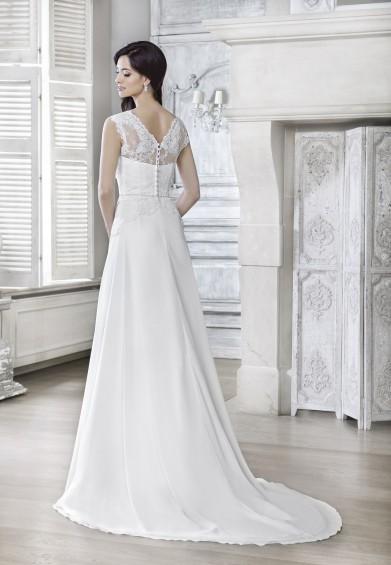 suknia ślubna 16054T tył