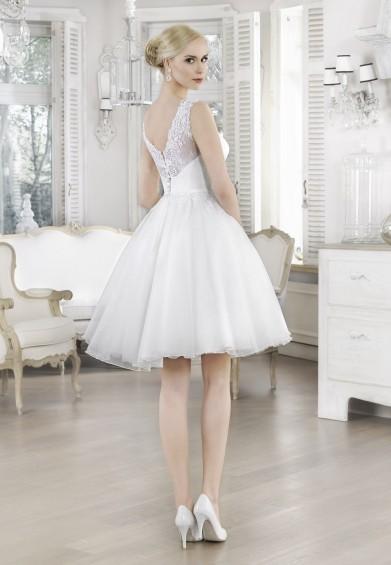 suknia ślubna 16117 tył