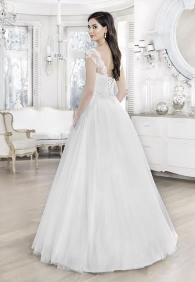 suknia ślubna 16145 tył