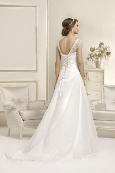 suknia ślubna 17016T tył