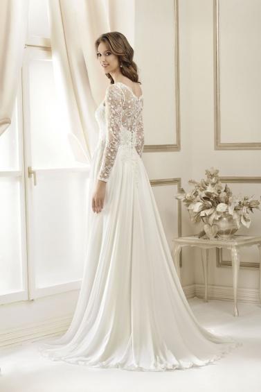suknia ślubna 17023T tył