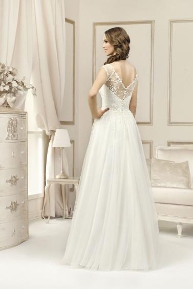 suknia ślubna 17030 tył