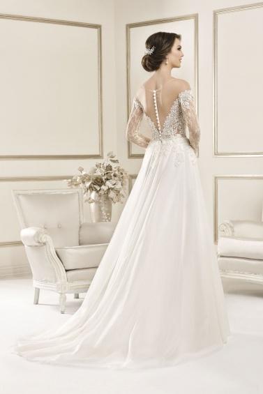 suknia ślubna 17074T tył