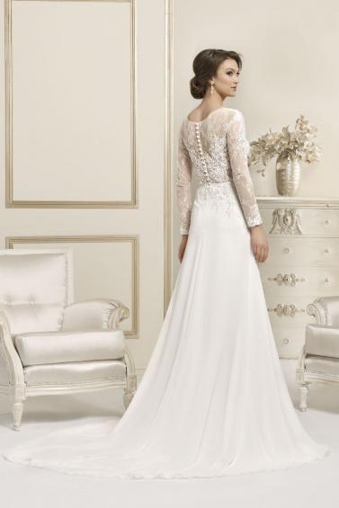 suknia ślubna 17076T tył