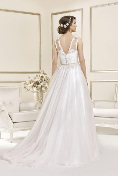 suknia ślubna 17081T tył