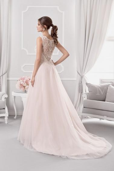 suknia ślubna 18008T tył
