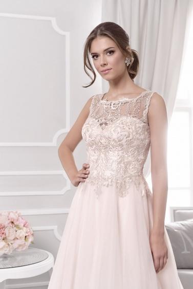 suknia ślubna 18008T zbliżenie