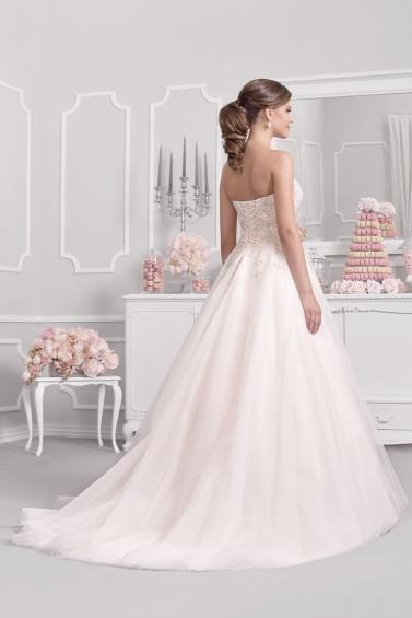 suknia ślubna 18012T tył