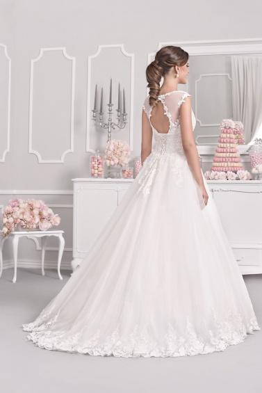 suknia ślubna 18030T tył