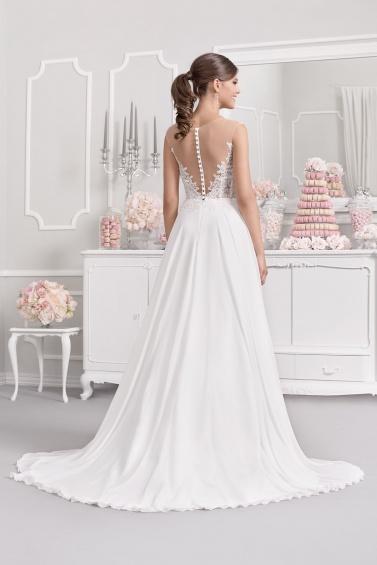 suknia ślubna 18034T tył
