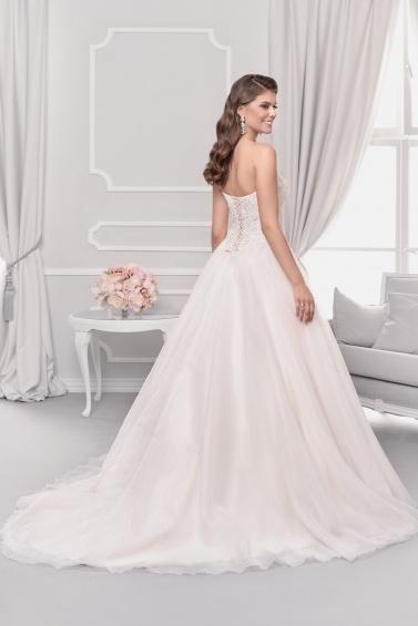 suknia ślubna 18035T tył
