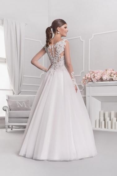 suknia ślubna 18036 tył