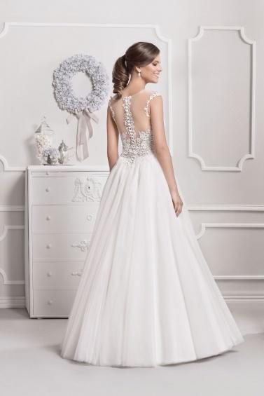 suknia ślubna 18048 tył