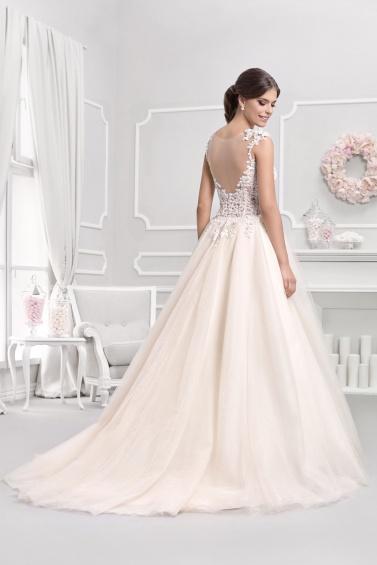 suknia ślubna 18049T tył