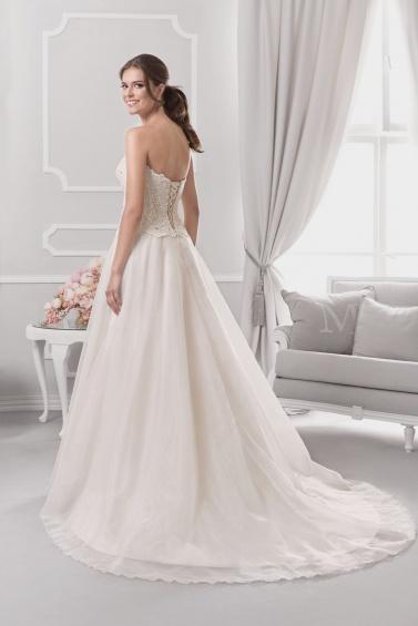 suknia ślubna 18050T tył