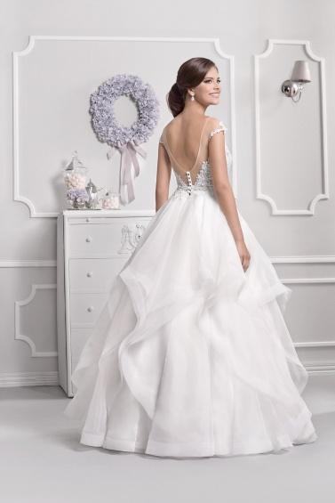 suknia ślubna 18058 tył