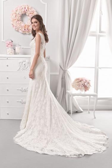 suknia ślubna 18064T tył