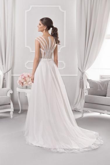 suknia ślubna 18065T tył