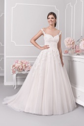 suknia ślubna 18071T przód
