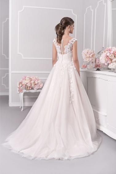 suknia ślubna 18071T tył