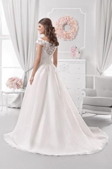 suknia ślubna 18111T tył