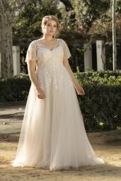 suknia ślubna LO-224T przód