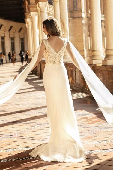 suknia ślubna TO-1166T tył