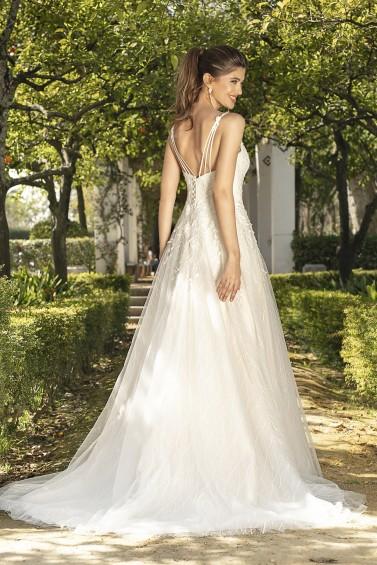 suknia ślubna KA-20055T tył