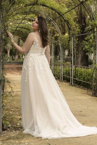 suknia ślubna LO-215T tył