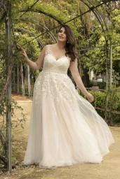 suknia ślubna LO-215T przód