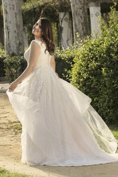 suknia ślubna LO-214T tył