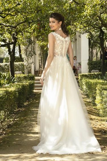 suknia ślubna KA-20054T tył