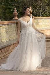 suknia ślubna LO-214T przód