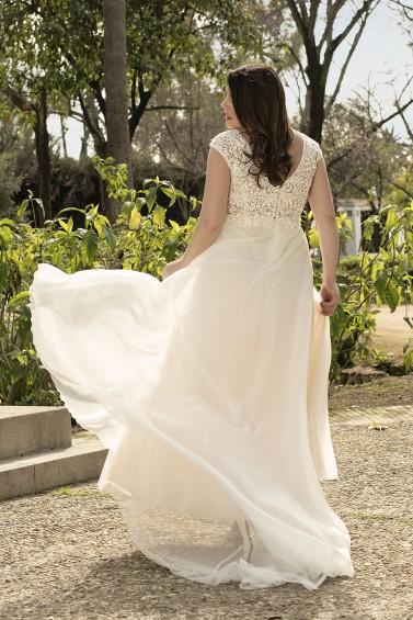 suknia ślubna LO-210T tył