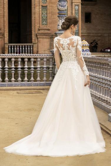 suknia ślubna TO-1110T tył