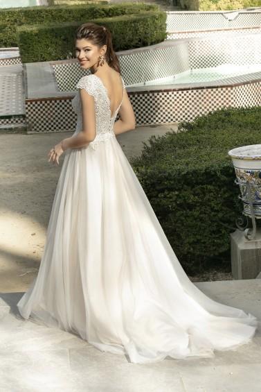 suknia ślubna KA-20028T tył
