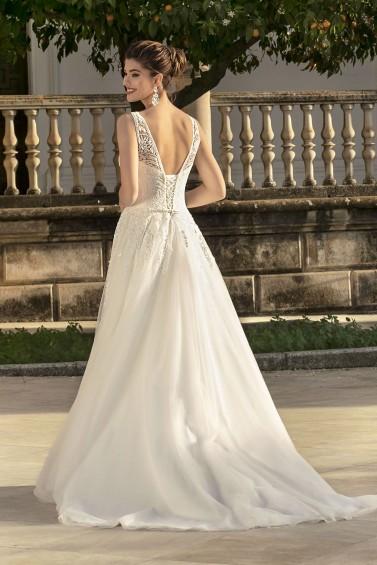 suknia ślubna KA-20026T tył